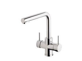 Phoenix Pristine 2-in-1 Filtered Water Sink Mixer with Filter Chrome Plated (5 Star)
