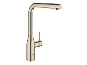 Grohe Essence New Pull Out Sink Mixer Brushed Nickel (6)