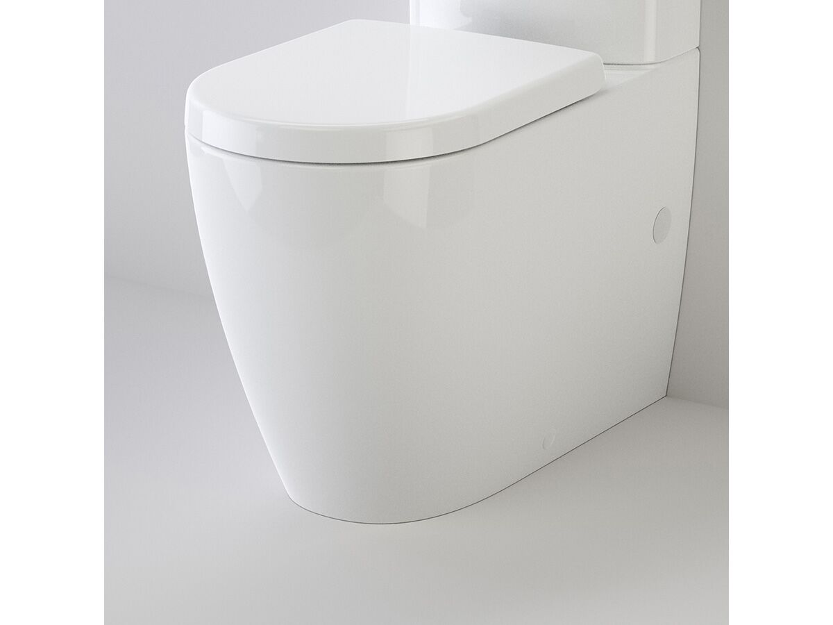 Caroma Forma Cleanflush Rimless Close Coupled Back To Wall Bottom Inlet Pan White (4 Star)