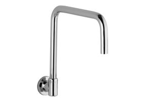 Phoenix Gen X Wall Sink Outlet- Square Outlet 290mm Chrome (3 Star)