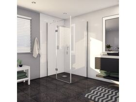 Kado Lux Shower Screen 1200mm x 900mm