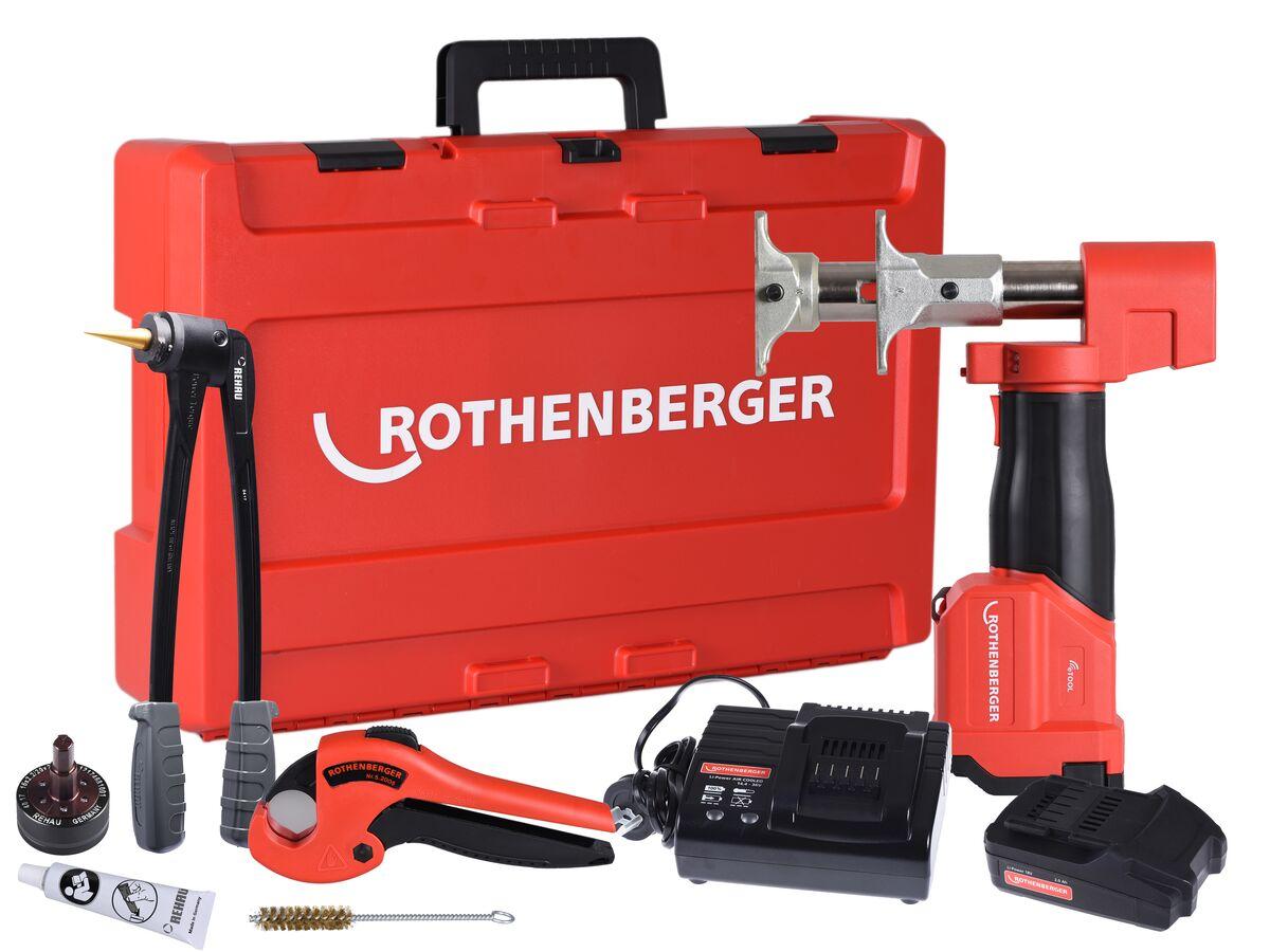 Rothenberger Romax Axial Rehau Tool Kit 16-20