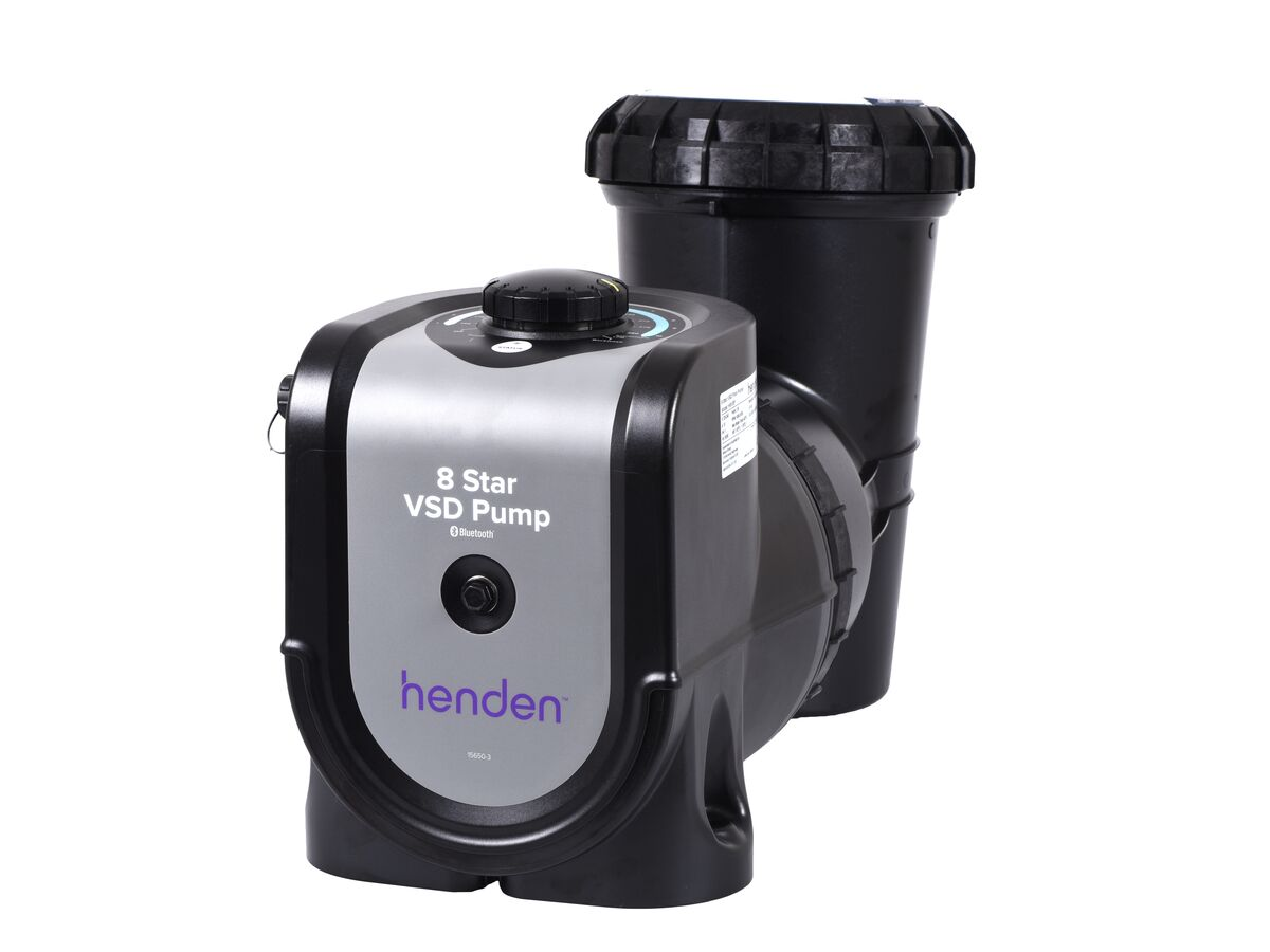 Henden 8 Star Variable Speed Pump with Bluetooth
