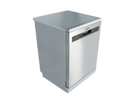 Franke Designer Freestanding Dishwasher Stainless Steel with Silver Kick Plate 60cm (4.5 Star)