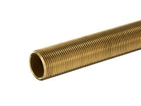 Allthread Nipple Brass 25mm x 300mm