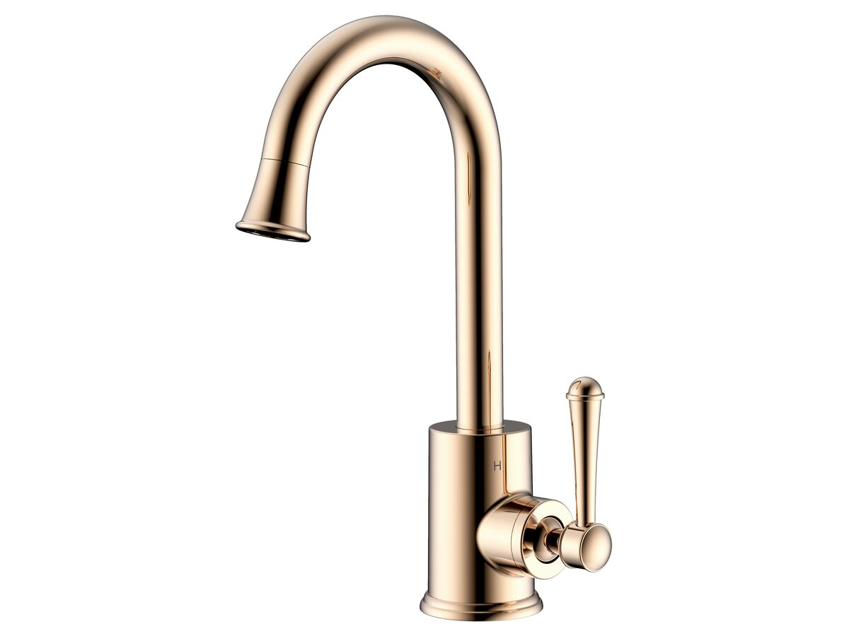 Posh Canterbury Basin Mixer Brass Gold (4 Star)