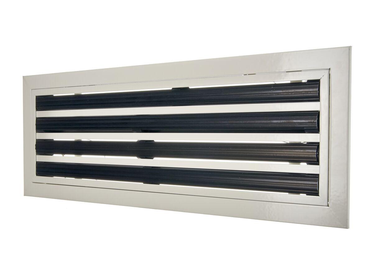 Linear Slot Diffuser 595mm x 190mm 4 Slots