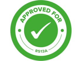 R513A Approval Sticker