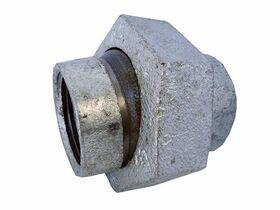 Galvanised Deflection Union 50mm (Mac Union)