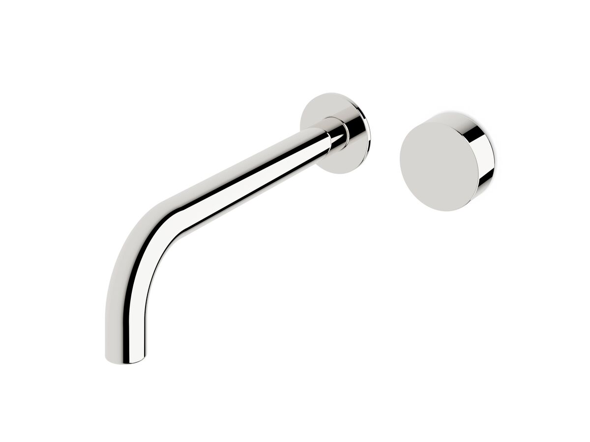 Milli Pure Progressive Wall Basin Mixer System 250mm Chrome (3 Star)