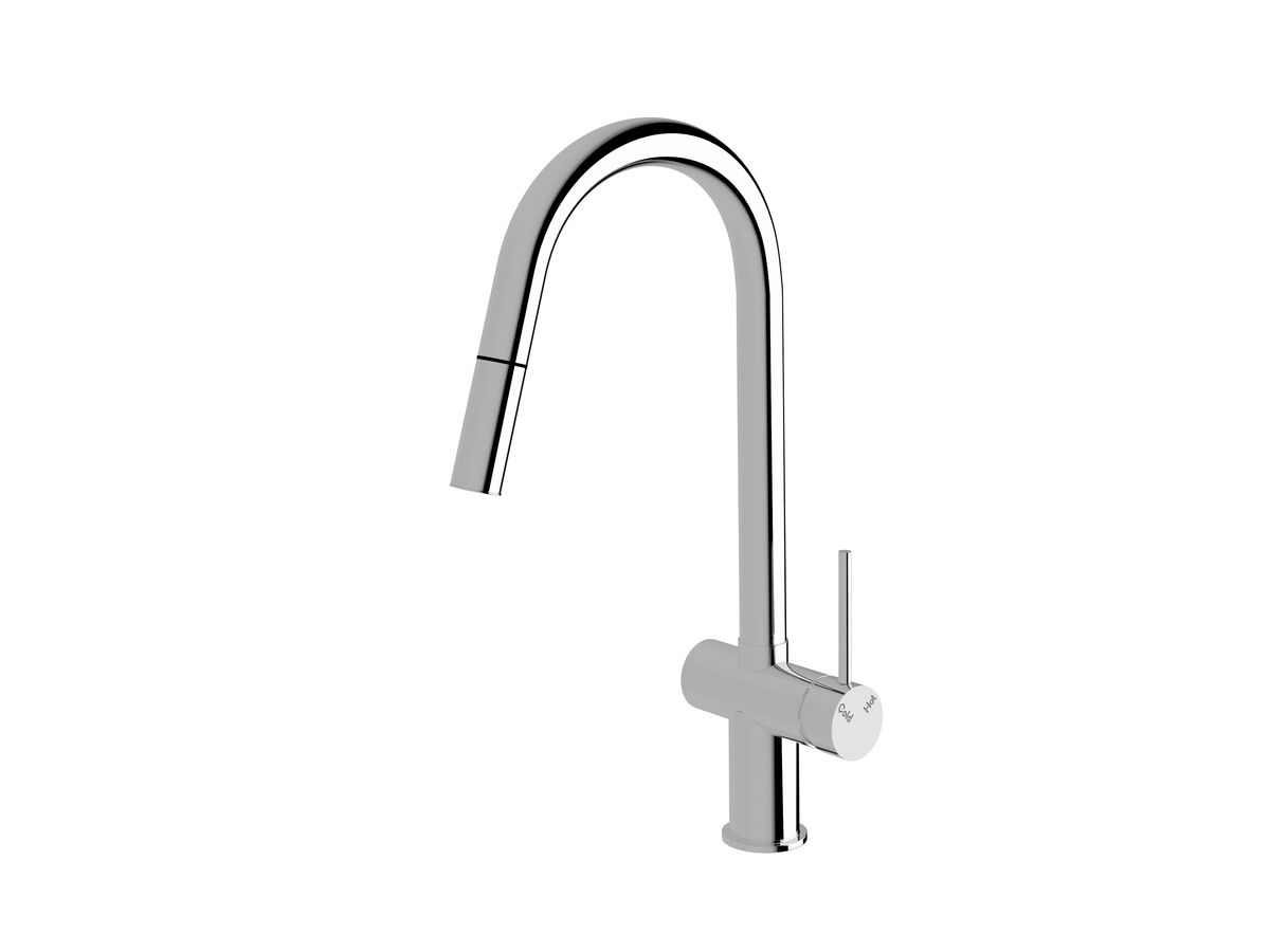Scala Pullout Sink Mixer Chrome (4 Star)