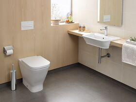 The Gap Back To Wall Comfort Height Pan with Seat White (4 Star)