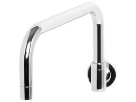Phoenix Gen X Wall Sink Outlet Square 280mm Outlet Chrome (3 Star)