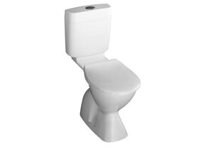 Posh Solus Concorde Concealed S Trap Toilet Suite White (4 Star)
