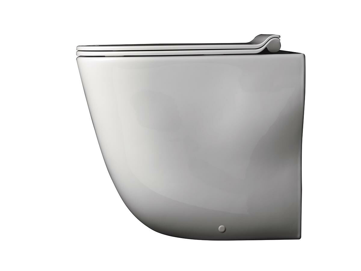 AXA Wild Rimless Back to Wall Pan with Soft Close Quick Release Seat (4 Star)