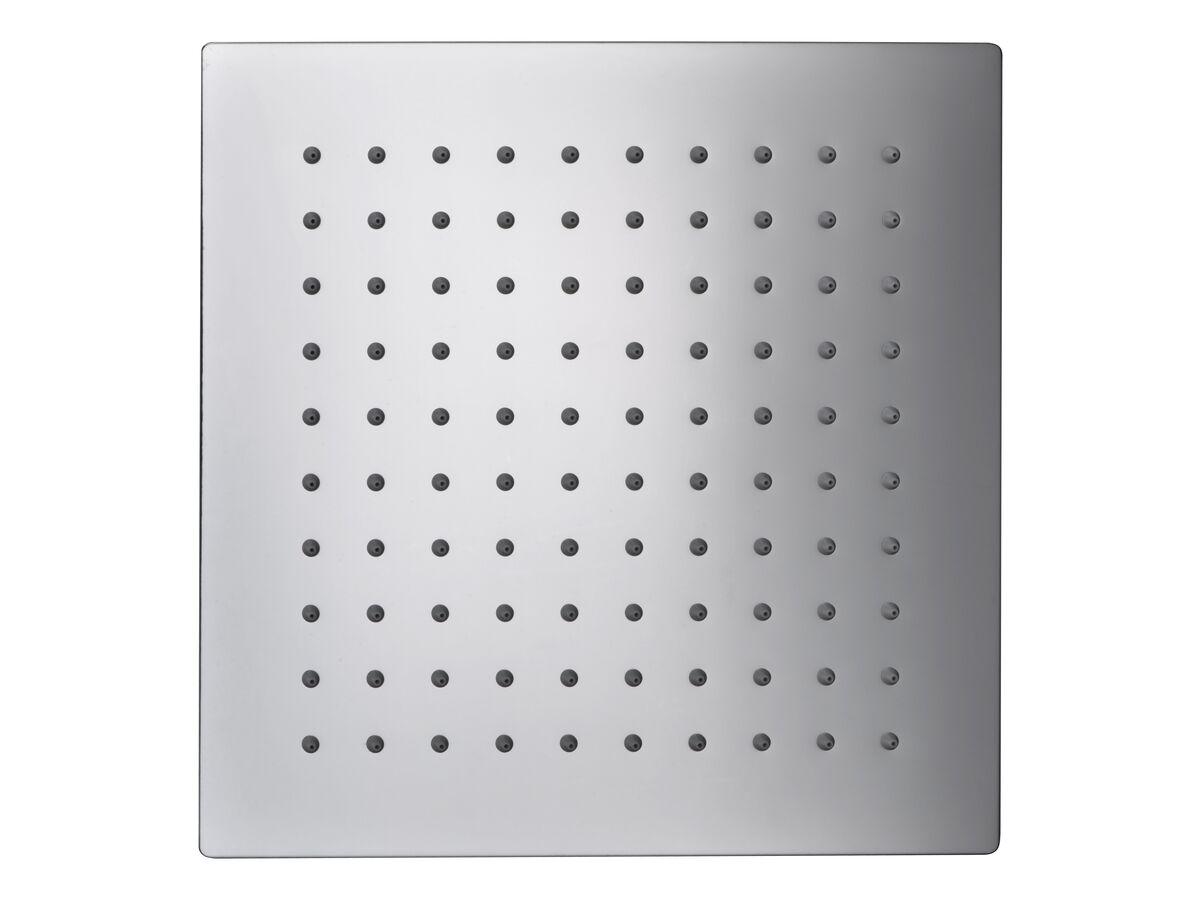 Mizu Bloc Ceiling Shower 250mm Chrome (3 Star)