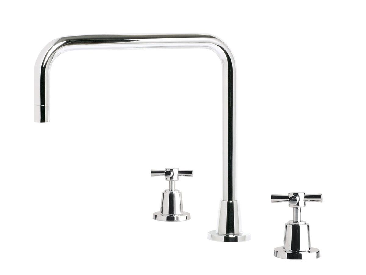Phoenix Gen X Outlet Hob Sink Set Square Fixed Spout Chrome (3 Star)