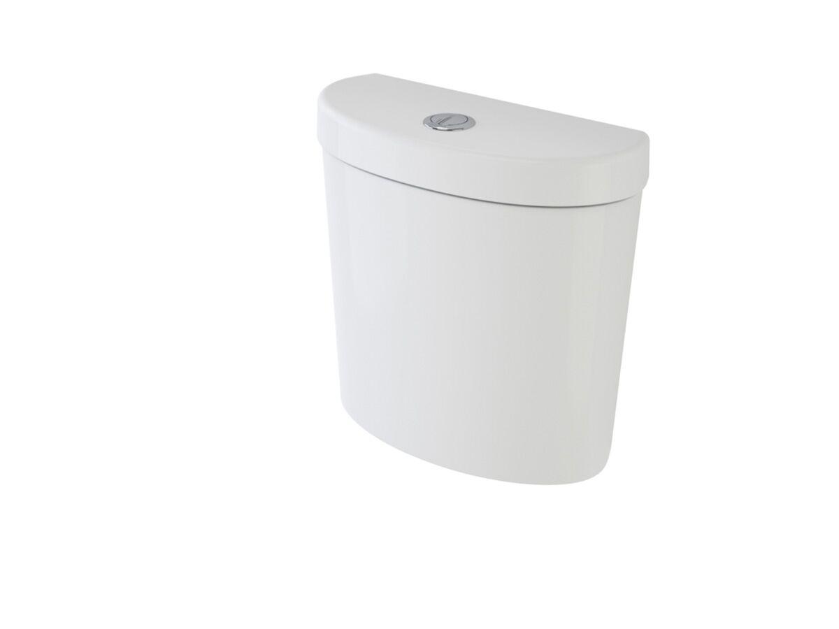 Profile Right Hand Cistern White (4 Star)