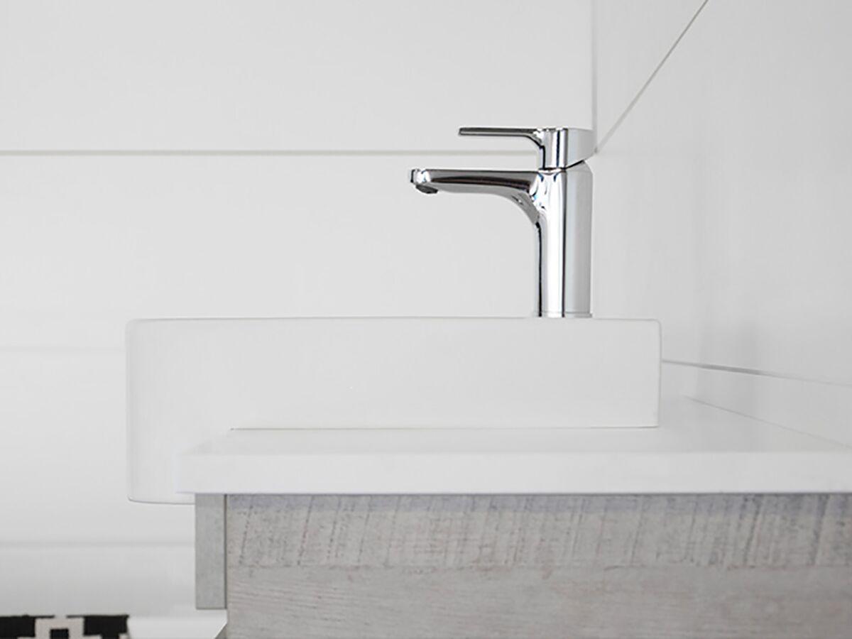 ADP Essence MKII Vanity Unit XS Sheer Ensuite with Kick 1 Door, 3 Draw No Basin 750mm